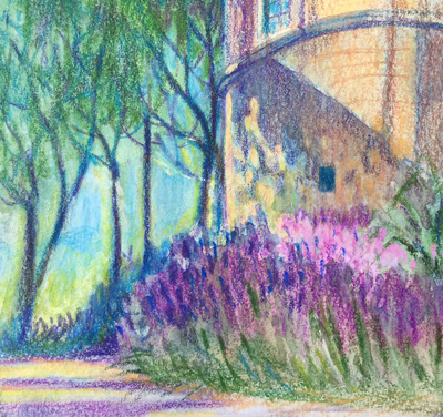 Drawing from life in Provence